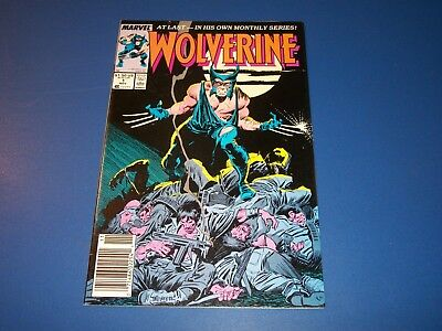 Wolverine #1 1st Series Key Issue Wow FVF