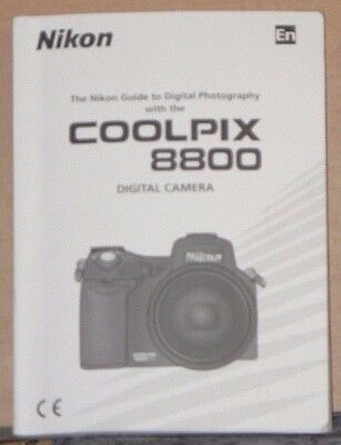 Nikon Coolpix 8800 Digital Camera Instruction Manual