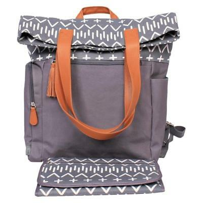 Cloud Island Backpack Diaper Bag Southwest, Gray, NEW