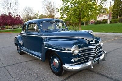 Plymouth Special Deluxe Special Deluxe BEAUTIFUL 33K ACTUAL ORIGINAL MILES PAMPERED SURVIVOR 1947 PLYMOUTH P15 COUPE