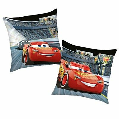 Race | Almohada 40 x 40 cm | Disney Cars | Niños Cojín Decoracion | Pillow