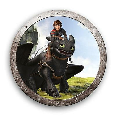 Hicks & Toothless | Almohada 36cm | DreamWorks Dragons | Niños Cojín Decoracion