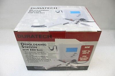Duratech TS-1513 Desoldering Station 80W ESD Safe - New/Unused - Untested