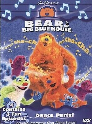 Bear in the Big Blue House - Dance Party New DVD Region 4