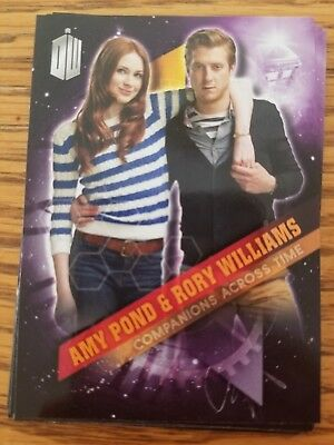 2016 Topps Doctor Who Timeless 2 Amy Pond & Rory Williams Companions Across Time