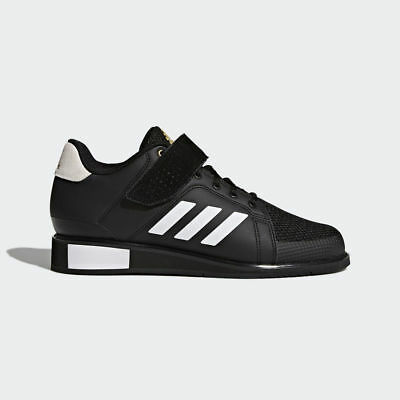 factory authentic caee3 dbb15 New Adidas Power Perfect III Mens Training Weightlifting Trainer Shoes rrp  £125
