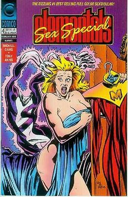 Elementals Sex Special # 4 (of 4) (USA, 1993)