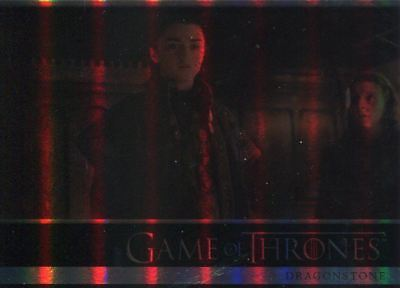 Game Of Thrones Season 7 Complete 81 Card Foil Parallel Base Set