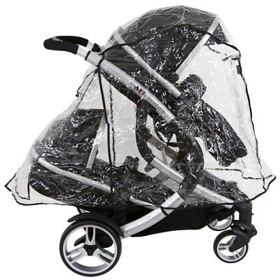 Tandem Rain Cover To Fit Baby Style Oyster Max & Oyster Max 2 Tandem
