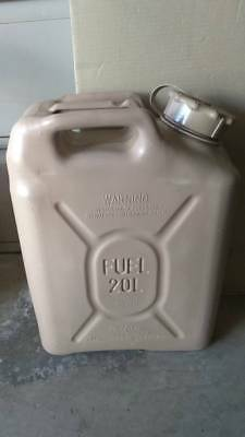 SCEPTER Sahara Sand Tan Jerry Gas Can Fuel US Military MFC 5gal 20L