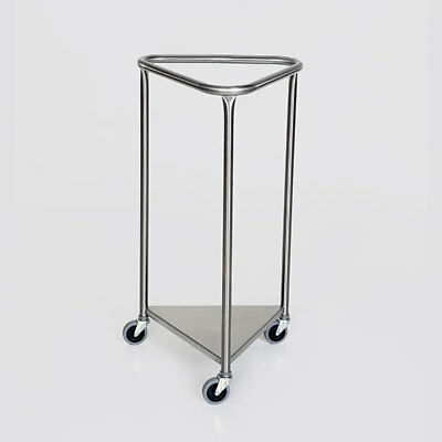 "New MCM-2006 18"" Triangle Top Stainless Steel Linen Hamper"