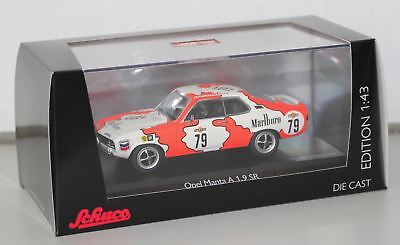 "Schuco 1/43 Opel Manta A Coupé Team Marlboro ""DNRT 24h Spa 1979"" Art. 450344500"