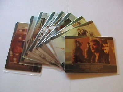 Game of Thrones Season 7 Complete 9 Card Valyrian Steel Metal Expansion Set