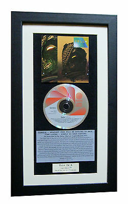 YELLO Stella CLASSIC CD Album LIMITED GALLERY QUALITY FRAMED+EXPRESS GLOBAL SHIP