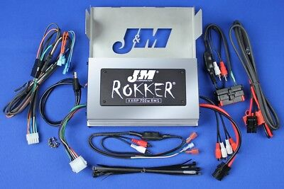 J&M Audio XXRP 700 Watt 4 Channel Amp Kit 2006-2013 Harley-Davidson Street Glide