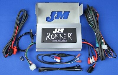 J&M Audio XXRP 700 Watt 4 Channel Amp Kit 2006-2013 Harley Ultra Classic Limited