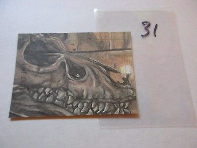 Game of Thrones Season 7 Hand Drawn Sketch Card by Debbie Jackson - 31