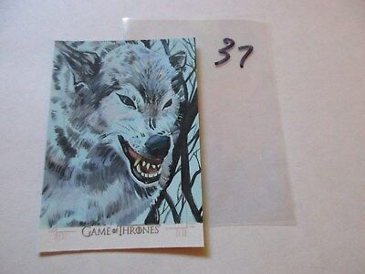 Game of Thrones Season 7 Hand Drawn Sketch Card by Jeff Malinson - 37
