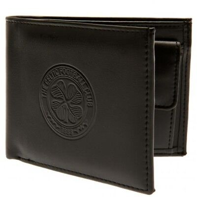 Celtic Football Club Official Leather Wallet Rfid Protection Team Crest Badge