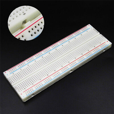 MB-102 Solderless Breadboard Protoboard 830 Tie Points 2 Buses Test Circuit Pip