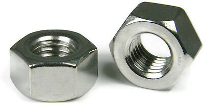 316 Stainless Steel Heavy Hex Nuts - All Sizes - QTY 100