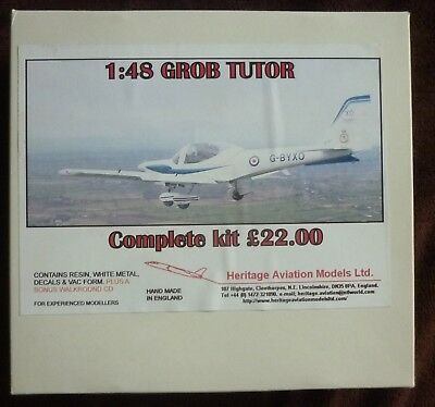 Heritage Aviation Models 1:48 Grob Tutor Resinbausatz