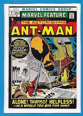 Marvel Feature #4_July 1972_Vf_The Astonishing Ant-Man Returns_Spider-Man!