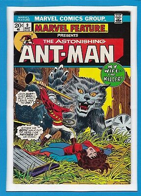 Marvel Feature #9_May 1973_Very Fine+_Astonishing Ant-Man_The Wasp_Iron Man!