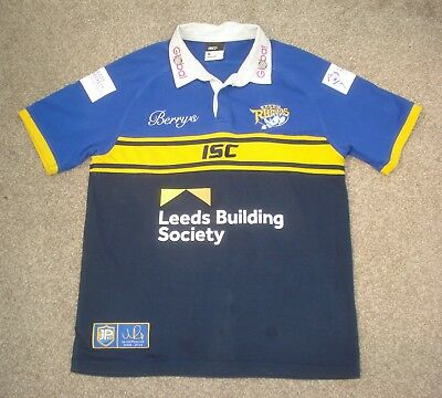 Medium Leeds Rhinos Rugby League Shirt ISC