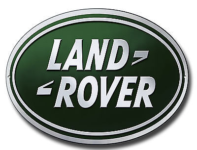 Landrover Oval Metallschild Klassisch Garage Signs.workshop Schild