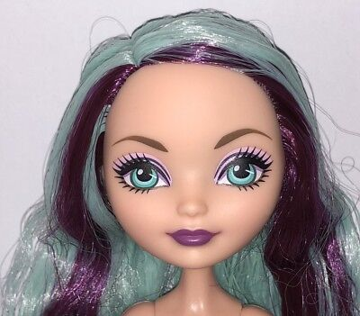 Ever After High Madeline Hatter LOOSE Wave One ReRelease Nude Doll NEW to OOAK