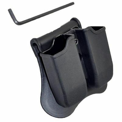 For Glock 19 17 22 23 26 34 35 Tactical Scorpion Polymer Double Magazine Pouch