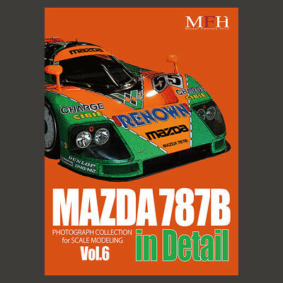 Model Factory Hiro Photograph Collection #6 - Mazda 787B in Detail