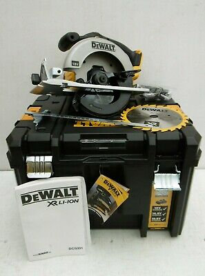 Dewalt Xr 18V Dcs391 165Mm Circular Saw Bare Unit + Deep Tstak Case