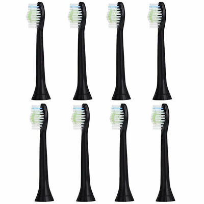 8x for Philips Sonicare DiamodClean Black Toothbrush Replacement Brush Heads AU