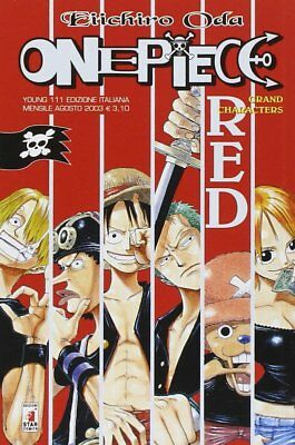 One Piece RED Grand Characters - Young 111 - Star Comics - ITALIANO NUOVO #NSF3