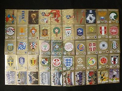 Panini World Cup Russia Shiny Stickers 2018 Logo / Badges / Legends