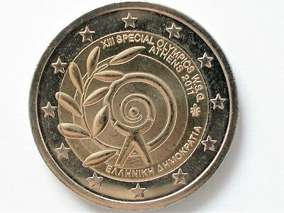 """*GRIECHENLAND*  2 EURO 2011 """"SPECIAL OLYMPICS in Athen"""" stgl./bankfrisch !"""