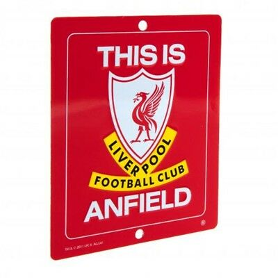 Liverpool F.c. This Is Anfield Sign Small