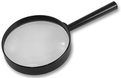 DURATOOL 100mm Magnifying Glass Map Reading Stamp & Coin Collecting Easy Vision