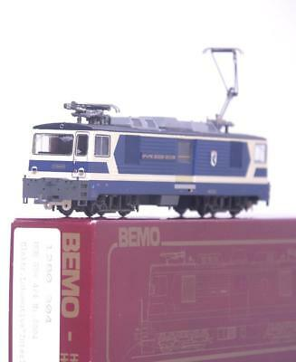 "BEMO 1280 304 HOm TT - SWISS MOB LIVERY GDe 4/4 ELECTRIC LOCOMOTIVE ""INTERLAKEN"""