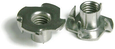 316 Stainless Steel T Nuts - All Sizes - QTY 25