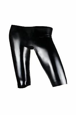 Fetish Bondage Rubber Latex Wear Ladies Bermudas  5310 Sexy Catsuit Stockings