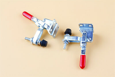 2Pcs 101A 50Kg//110LBS Toggle Clamp Capacity Vertical Handle