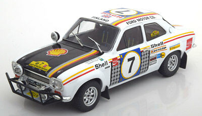 1:18 Triple 9 Ford Escort 1 RS1600 Winner Safari Rally 1972