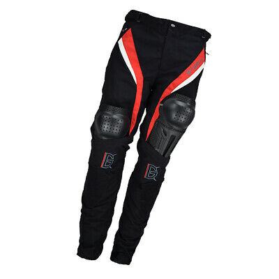 Men's Motorcycle Pants mesh Motorbike Riding Trousers with Knee Pads