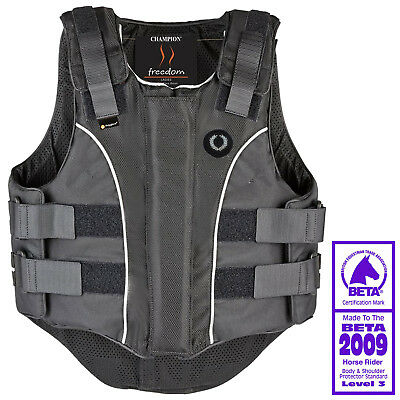 Champion Girls Freedom Body Protector Horse Riding Equestrian Safety Level 3