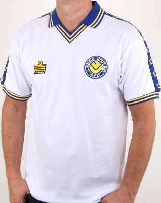 Leeds United 1978 Admiral Retro Football Shirt in White - official replica