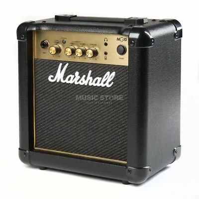 Marshall Marshall - MG10G Black & Gold