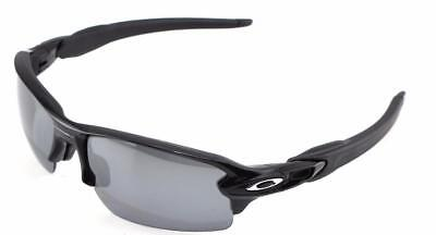 New Oakley Sunglasses Flak 2.0 Polished Black Blk Polarized #9295-07 New In Box